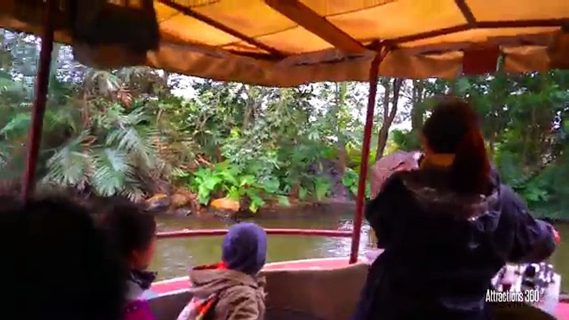 4k Hong Kong Disneyland Jungle Cruise Ride With Awesome Finale 2016 Video Dailymotion