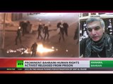 'Struggle for democracy continues': Bahrain human rights activist Nabeel Rajab released
