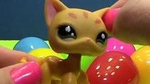 Chats des œufs chatons minous animal de compagnie Boutique jouets déballage Le plus petit lps surprise gatos sorpresa huev