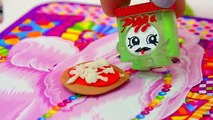 MLP Twilight Sparkles Playdoh PIZZA Class - My Little Pony LPS Students Shopkins Video Play