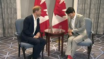 Prince Harry thanks Trudeau for hosting the Invictus Games