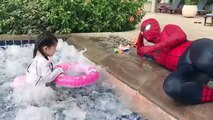 Superhero Family Holidays at the Swimming Pool