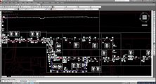 AutoCAD tutorial-How to shift irrigation pipeline from asphalt to green area in autocad layout-2017