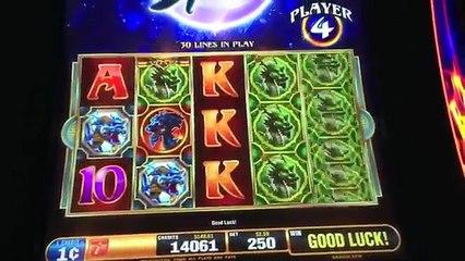 NEW! Dragon Spin Slot Machine-Bonus-Bally Technologies