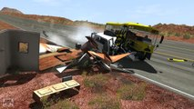 BeamNG Drive Crazy Police Chases & Crashes Compilation Montage