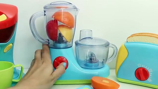 cooking playset just like home kitchen appliance set