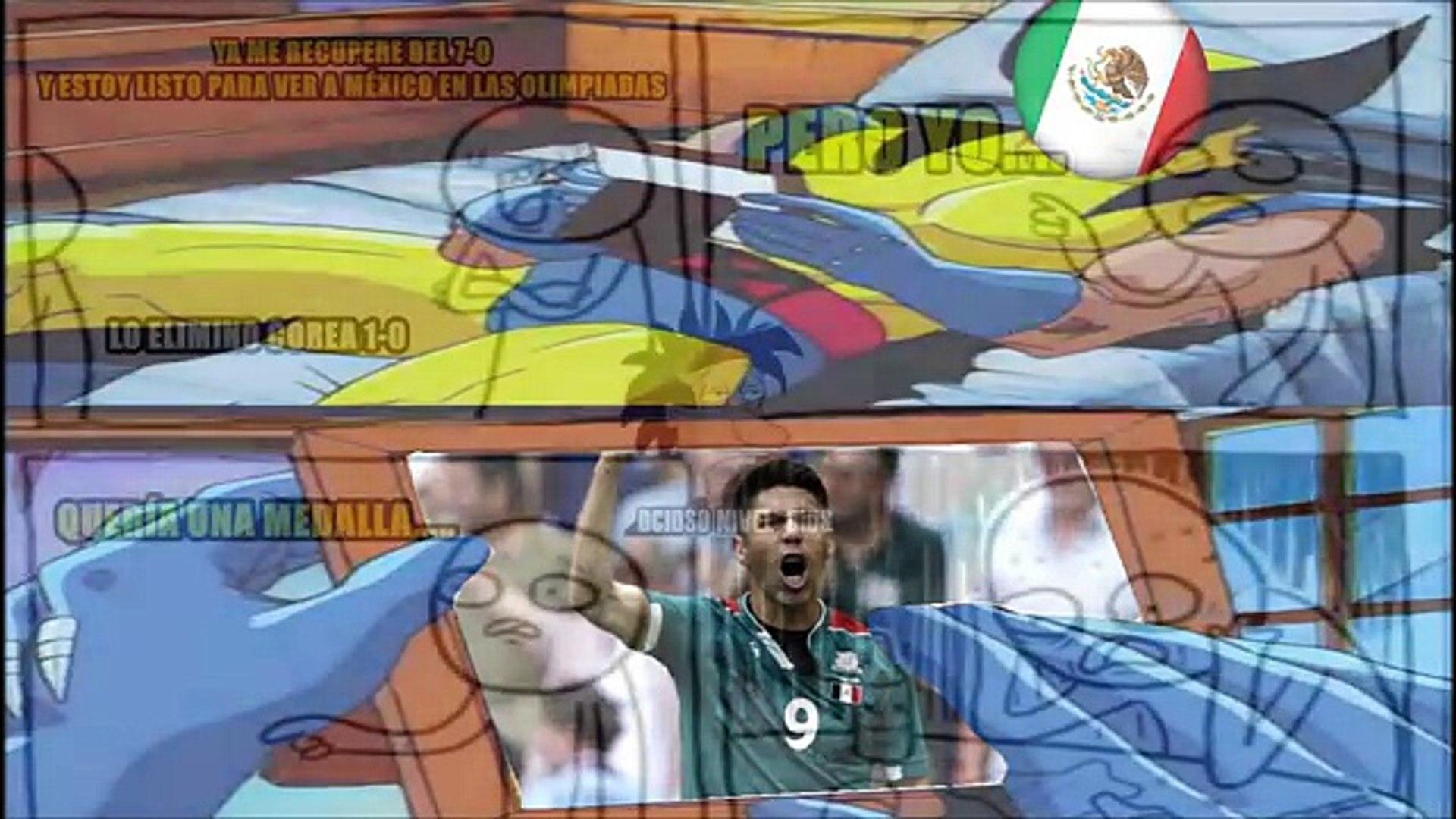 México Eliminado de Río 2016 Memes | México vs Corea del Sur 0-1 Decepcion y Fracaso del Tri Memes