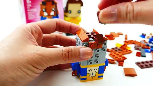 Beauty and the Beast LEGO Brick Headz Beast 41596 Review   Evies Toy House