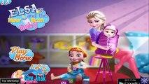☺Elsa Dan Anna Melahirkan. Permainan Frozen Elsa Dan Anna. Disney Princess Elsa & Anna Games