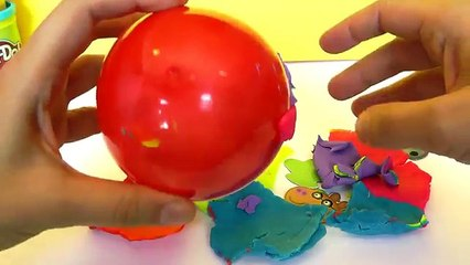 HUEVO SORPRESA PEPPA PIG clay buddies, Princesas Disney, Mickey Mouse, Lalaloopsy. video e