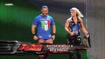 Goldust and Melina vs. Santino Marella and Beth Phoenix
