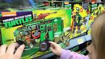 Crazy Ninja Turtles Toy Hunt Shopping Trip