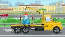 La Dépanneuse et le Camion la Ville | Voitures et camions dessins animés