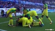 Léo Dubois Goal HD - Strasbourg 1 - 2 FC Nantes - 24.09.2017 (Full Replay)
