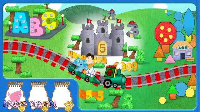 BLUES CLUES - Blues Gold Blue Challenge - New Blues Clues Game - Online HD Game - Gameplay