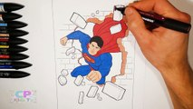 Superman Coloring Pages for Kids Part 4 , Superman Coloring Pages Fun ,Coloring Pages Kids Tv