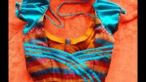 new blouse designs 2017-Blouse Back Neck models//Stylish and Trendy Bridal Blouse Back Neck Design