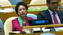 Dr Maleeha Lodhi demolishes India at the UN. She talked about India's interference in Pakistan and terrorist activities sponsored by Indian in Pakistan. Kulbhushan Yadav was Indian RAW spy caught in Pakistan.