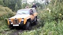 Off-road 4x4 Extreme Nissan UAZ-469 Chevrolet Niva UAZ Patriot