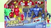 Marvel Super Hero Mashers Iron Man Vs Iron Monger Mash Pack Iron Man Team!!