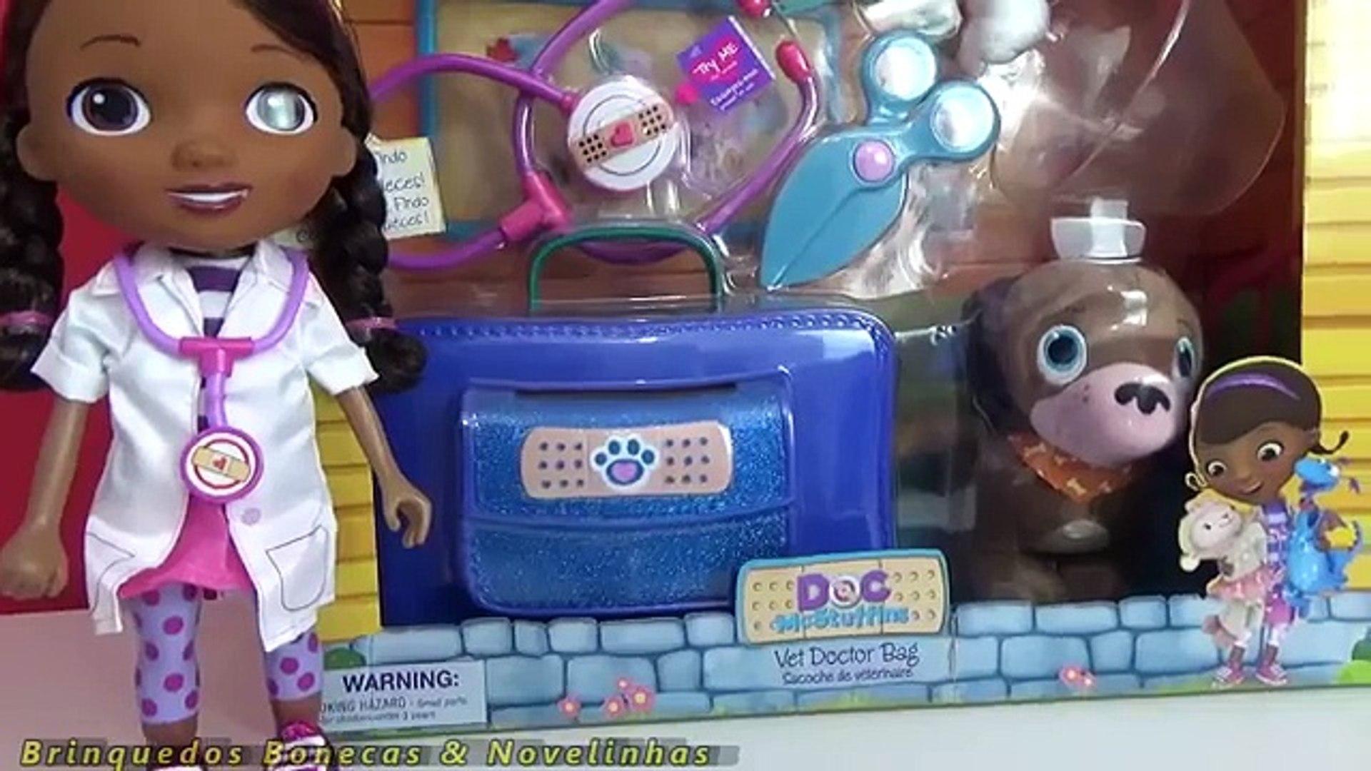 Doutora Brinquedos Kit Veterinario Brinquedo New Doc Mcstuffins
