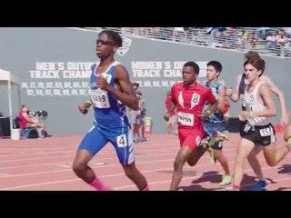 SPEED! Brandon Miller Breaks 800m National Record