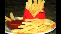 Crispy & Instant French Fries (Mc Donalds) Easy Recipe Of Potato French Fries - By Food Connection