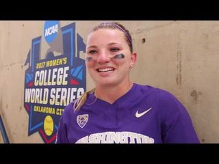 Washington Softball Player Casey Stangel Leaves A Message For Future Huskies
