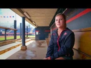 Auburn Softball Catcher Carlee Wallace Interview