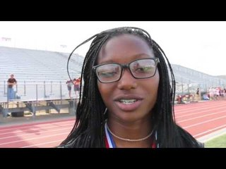 Sanaa Barnes High School Volleyball and Track Standout