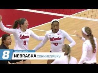 Nebraska Women's Volleyball #8 in 2017 NCAA Preseason Rankings