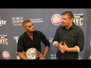 Bellator Champ Douglas Lima on Bellator NYC, strategy vs. Lorenz Larkin