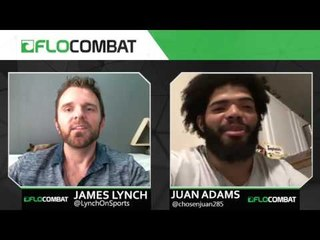 LFA Heavyweight Juan Adams Discusses Pro MMA Debut, Next Steps