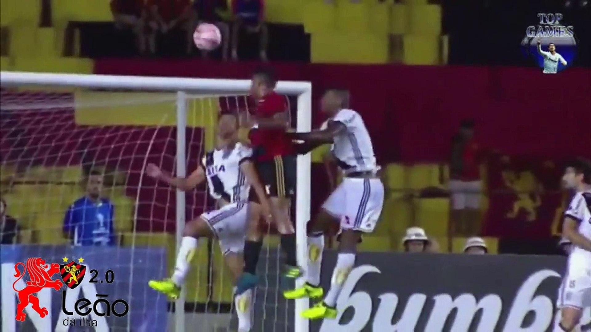 Sport 3x1 Ponte Preta - Narração de Aroldo Costa -( Sul-Americana 13-09-2017)