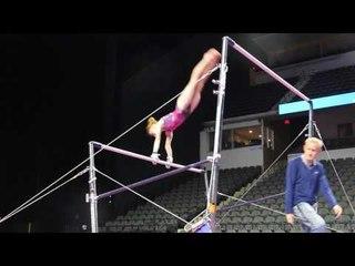 Hannah Hagle - Bars - 2017 U.S. Classic Podium Training