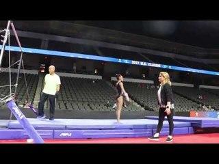 Leanne Wong, GAGE - Bars -  - 2017 U.S. Classic Podium Training