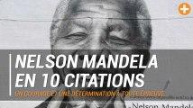 Nelson Mandela en 10 citations