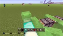 Minecraft PS3, PS4, Xbox, Wii U - WORKING CAR with SLIME BLOCKS! SLIME BLOCK CAR! - Easy Tutorial!!!