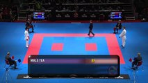 Male Team Kumite BELARUS vs JAPAN (1/3). new World Karate Championships. Bronze Medal