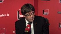 """Carles Puigdemont : """"Je suis en train de confirmer qu'il y aura un vote, et surtout, il y aura des votants."""""""