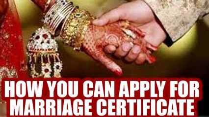 Marriage Certificate: Procedures and steps for application | Oneindia News