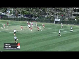 Colorado vs  Stanford at the 2017 MPSF Lacrosse Championships