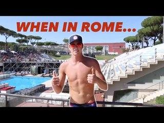Conor Dwyer Talks Rome & Energy For Swim