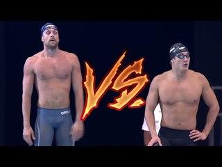 Nathan Adrian VS Luca Dotto 50m Freestyle | 2017 Energy For Swim