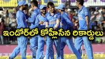 IND Vs AUS 3rd ODI :Indian cricket team's Achievements In Indore | Oneindia Telugu
