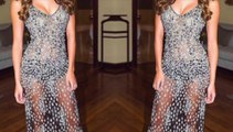 Iris Mittenaere et sa sublime robe transparente