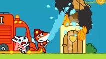 Fire Engine and Fire - Pango Storytime   Fire Trucks for Children ,  FIRE fire Cartoons for Kids