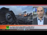 MH17 witness emerges, claims Ukrainian jet brought down Boeing