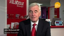 McDonnell: Delegates don't want to divide Labour over Brexit