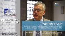 Questions à Jean-René LECERF (ADF) - Fiscalité locale - cese